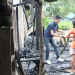 Cooking fire burns down 3 houses in Putho-Tuntungin